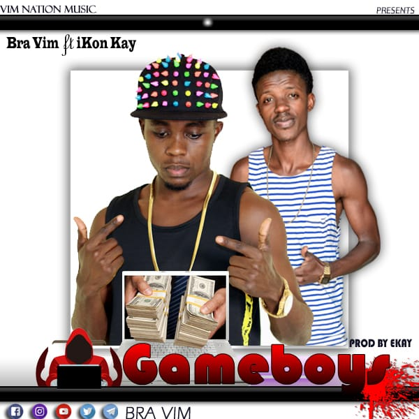 Bra Vim ft Ikon Kay - Game Boys (Prod by Ekay)