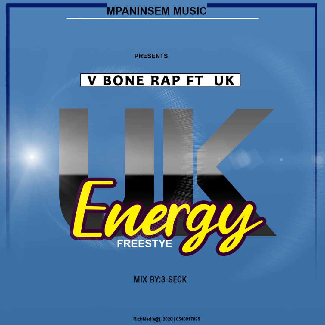 Upcoming Song: V Bone Rap Set To Drop Energy Freestyle